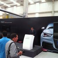 Photo taken at Audi Brasil by Rodrigo P. on 8/28/2012