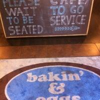 Photo taken at Bakin' & Eggs by Desiree C. on 5/5/2012