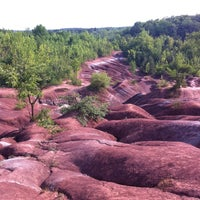 Photo taken at Cheltenham Badlands by Corey T. on 7/18/2012