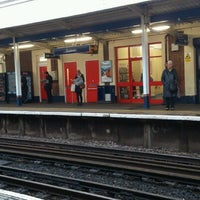 Photo taken at Staines Railway Station (SNS) by Baldwin H. on 6/12/2012