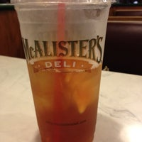 Photo taken at McAlister's Deli by Bobby W. on 8/30/2012