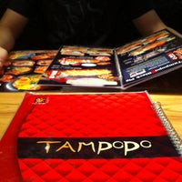 Photo taken at Tampopo Restaurant by Cherly D. on 6/11/2012