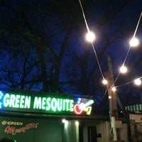 Photo taken at Green Mesquite BBQ by Rachel G. on 3/12/2012