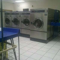 Photo taken at Lost Sock Laundromat by Heather C. on 3/8/2012