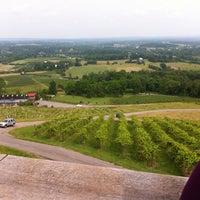 Photo taken at Bluemont Vineyard by Allen L. on 5/26/2012
