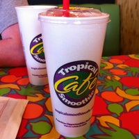 Photo taken at Tropical Smoothie Cafe by Beth P. on 4/16/2012