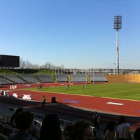 Photo taken at Don Valley Stadium by Rob D. on 3/25/2012