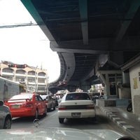 Photo taken at Khlong Tan Intersection by Pop V. on 5/24/2012