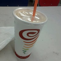 Photo taken at Jamba Juice 4th St & Santa Monica Blvd by Freckles on 8/9/2012