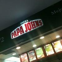 Photo taken at Papa John's Pizza CDMX - Interlomas by Daniel B. on 7/9/2012