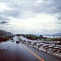 Photo taken at Lam Takong Dam by Nusara K. on 8/11/2012