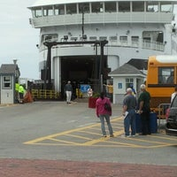 Photo taken at Steamship Authority - Woods Hole Terminal by Datra M. on 5/15/2012