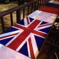 Photo taken at British Bulldog by Corey B. on 7/29/2012