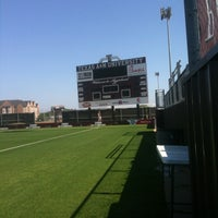 Photo taken at Ellis Field - Aggie Soccer Stadium by Maverick M. on 4/5/2012