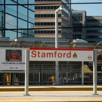 Photo taken at Stamford Transportation Center : Bus/Train (STM) Metro North & Amtrak by Steve S. on 5/19/2012