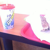 Photo taken at Subway by Nicole L. on 3/10/2012