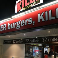 Photo taken at Killa Burger Grill by Katina B. on 8/31/2012