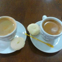Photo taken at Grão Espresso by Karine C. on 6/2/2012