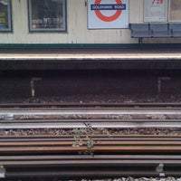 Photo taken at Goldhawk Road London Underground Station by Margaret R. on 3/29/2012