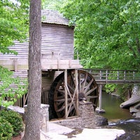 Photo taken at Grist Mill / Stone Mountain Park by LostTrailRunner /. on 6/12/2012