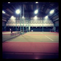 Photo taken at RBSC Tennis Court by Phojnichy H. on 3/9/2012