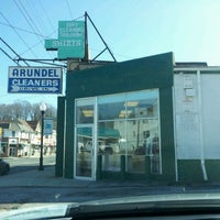 Photo taken at Arundel Cleaners by Jason J. on 2/9/2012