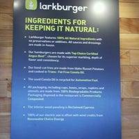 Photo taken at Larkburger by Candace L. on 2/5/2012
