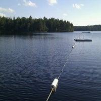 Photo taken at Zinkgruvanbadet by Susanne J. on 7/27/2012