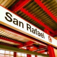 Photo taken at Tren Suburbano San Rafael by Moises Z. on 3/26/2012