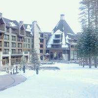 Photo taken at The Ritz-Carlton, Lake Tahoe by greg j. on 2/13/2012