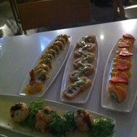 Photo taken at Wa Teppan Sushi Bar by YaYa on 4/25/2012