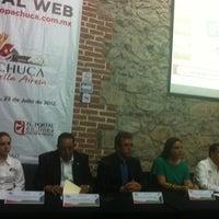 Photo taken at Universidad La Salle Pachuca Campus La Luz by Paco J. on 7/23/2012