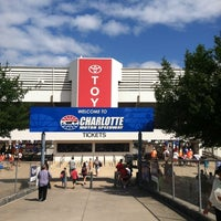 Photo taken at Charlotte Motor Speedway by Doug H. on 5/28/2012