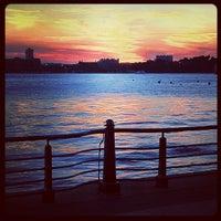 Das Foto wurde bei Hudson River Park Run von Brandon W. am 6/21/2012 aufgenommen