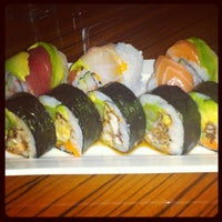 Photo taken at Sushi Yama by Ashley H. on 8/16/2012