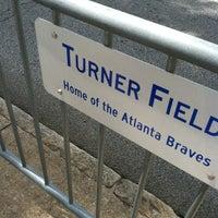 Photo taken at Turner Field - Gold Lot by Lauren F. on 9/1/2012