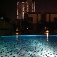 Photo taken at Thamrin City Apartment by Muhammad F. on 4/15/2012