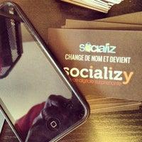 Das Foto wurde bei Agence Socializy von Guillaume S. am 9/13/2012 aufgenommen