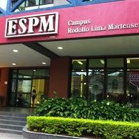 Photo taken at Escola Superior de Propaganda e Marketing (ESPM) by Gabriel Torres A. on 2/27/2012