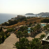 Photo taken at Blue Bay Resort & Spa Hotel by Eugenia on 8/9/2012