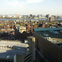 Photo taken at Hilton Boston Back Bay by Helen Y. on 4/16/2012