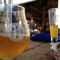 Photo taken at Harriet Brewing by Traci E. on 9/1/2012