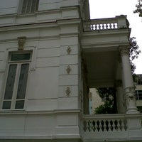 Photo taken at Palacete das Artes by Matías U. on 9/4/2012