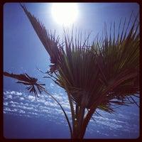 Photo taken at Chiringuito de la Mar Bella by GuiM on 8/13/2012