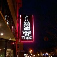 Photo taken at Wine on Third by Amanda C. on 2/24/2012