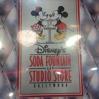 Photo taken at Disney's Soda Fountain & Studio Store by Rosy on 7/27/2012