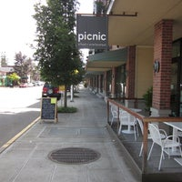 Photo taken at picnic : a food+wine boutique by Robby D. on 7/30/2012