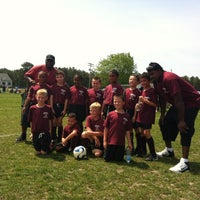 Photo taken at Beachwood Soccer Club Complex by Mary W. on 8/22/2012