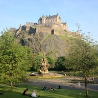 Photo taken at West Princes Street Gardens by Marat K. on 5/24/2012