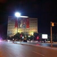 Photo taken at Tandoğan Square by ཿ༄ོ EKЯEM༄ོོོཿ on 8/29/2012